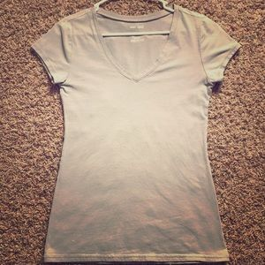 Wet Seal grey short sleeve shirt